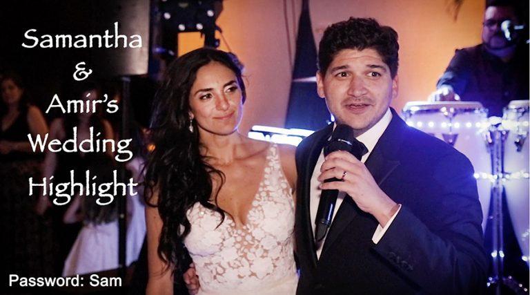 Eden Roc Wedding Video   Samantha and Amir